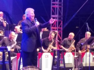 Bobby Rydell at Lincoln Center Midsummer Nights Swing, July 6, 2016